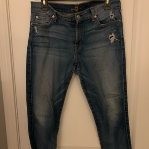 7 for all mankind midrise skinny